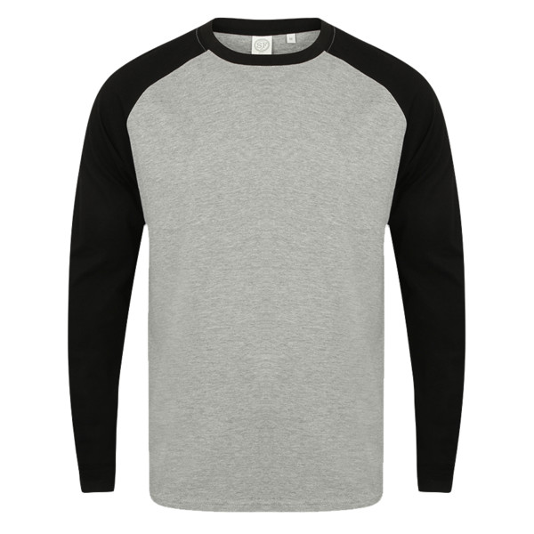 a6c563d23234 Skinnifitmen SF Men Long Sleeve Baseball T-Shirt SF271