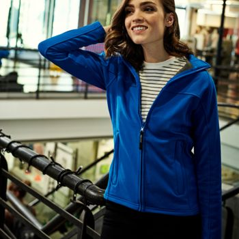 Regatta Ladies Uproar Soft Shell Jacket Thumbnail