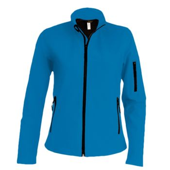 Kariban Ladies Soft Shell Jacket Thumbnail