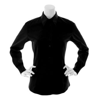 Kustom Kit Ladies Long Sleeve Classic Fit Workforce Shirt Thumbnail