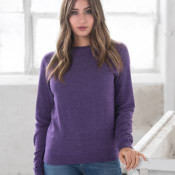AWDis Girlie Heather Sweatshirt Thumbnail