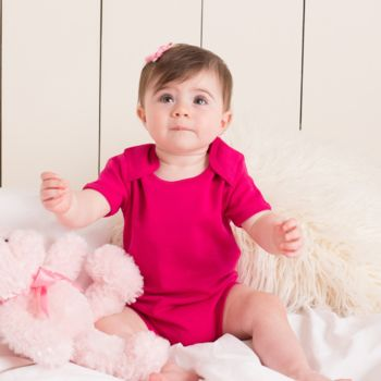 Larkwood Short Sleeve Baby Bodysuit Thumbnail