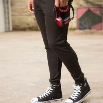 AWDis Tapered Track Pants Thumbnail