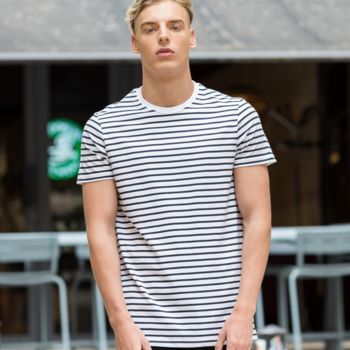 SF Unisex Striped T-Shirt Thumbnail