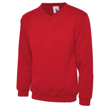 Childrens V Neck Sweatshirt Thumbnail