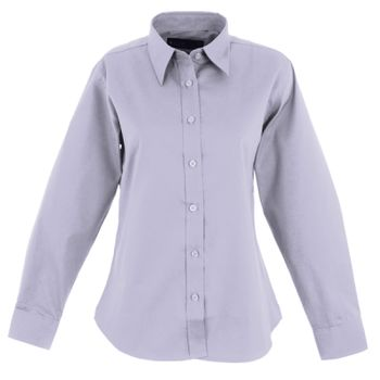 Ladies Pinpoint Oxford Full Sleeve Shirt Thumbnail