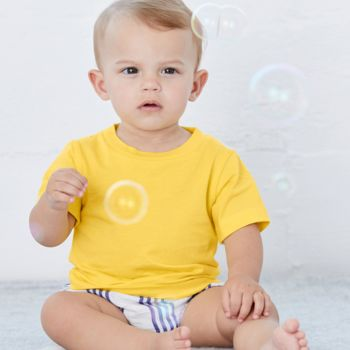 Canvas Baby Crew Neck T-Shirt Thumbnail