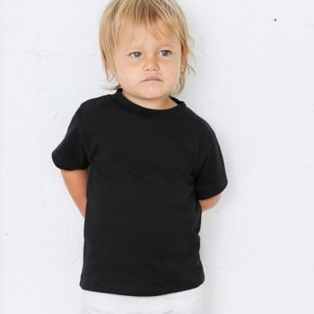 Canvas Toddler Crew Neck T-Shirt Thumbnail