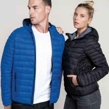 Kariban Lightweight Hooded Padded Jacket Thumbnail
