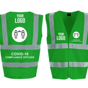 Covid Compliance Safety Vests Thumbnail